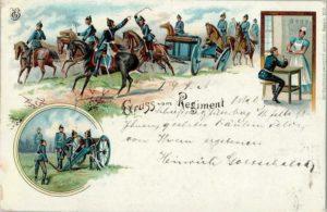 Ecrivez-nous - Carte postales - Gruss-vom-Regiment