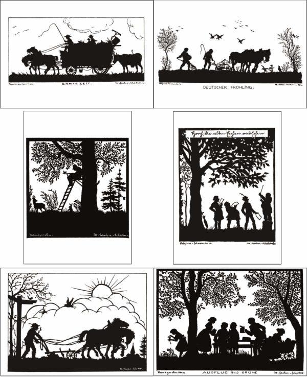 Carte postale - Volksleben - Martha Sachse-Schubert (1890-)