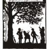 Carte postale - Volksleben_04 - Martha Sachse-Schubert (1890-) - Horch die alten Eichen rauschen