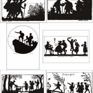 Carte postale - Wandervogel serie 01