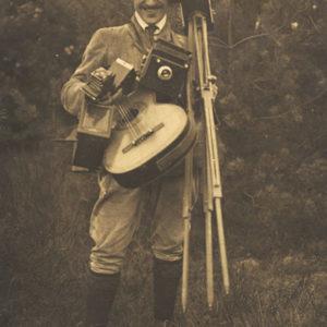 Autoportrait de Julius Groß - 1917