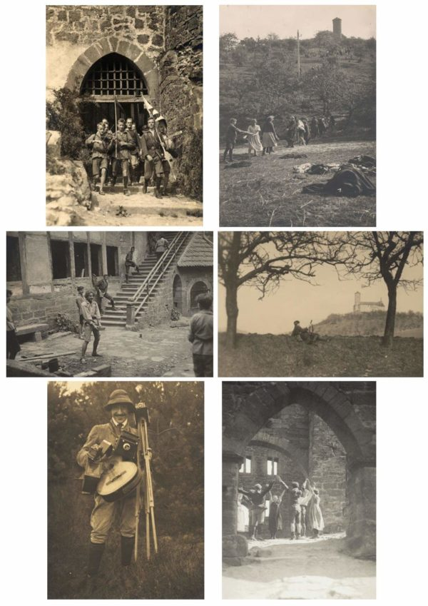 Serie de 6 cartes postales - Lebensreform - Retour à la nature