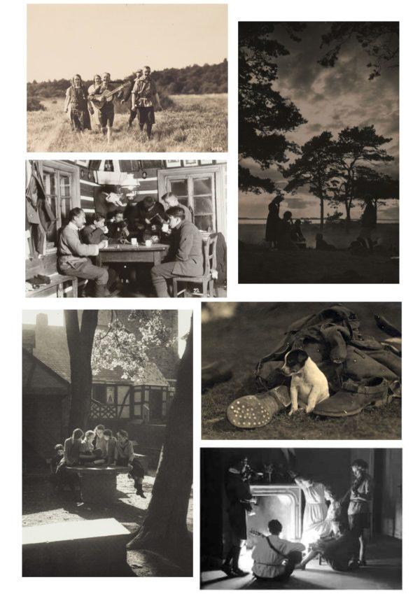 Serie de 6 cartes postales - Wandervogel - Julius Groß